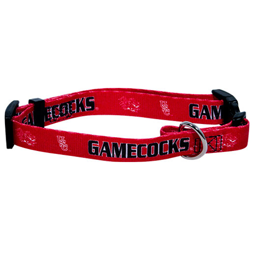 South Carolina Gamecocks dog collar