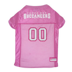 Tampa Bay Buccaneers NFL Pink Dog Jersey