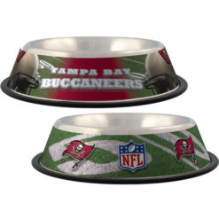 Tampa Bay Buccaneers stainless dog bowl NFL