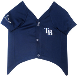 Tampa Bay Rays MLB NFL dog jersey front