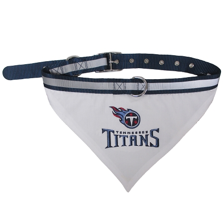 Tennessee Titans NFL Dog Bandana and Collar