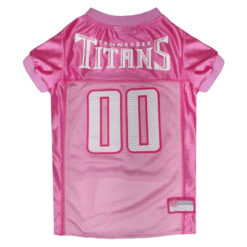 Tennessee Titans NFL Pink Dog Jersey