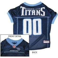 Tennessee Titans NFL dog jersey