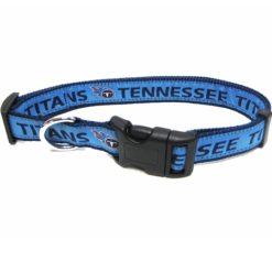 Tennessee Titans nylon dog collar