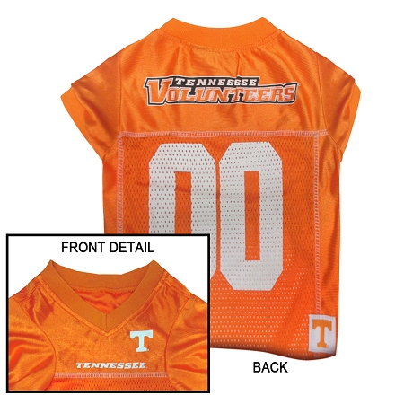 Tennessee Volunteers NCAA dog jersey