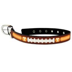 Tennessee Volunteers NCAA leather dog collar large