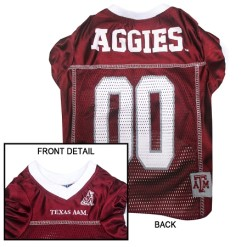 Texas A&M Aggies NCAA dog jersey
