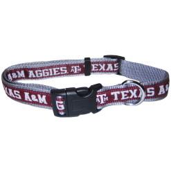Texas A&M Aggies NCAA nylon dog collar