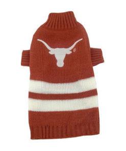Texas Longhorns Turtleneck Dog Sweater