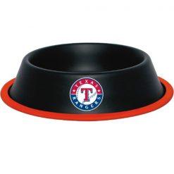 Texas Rangers Dog Bowl