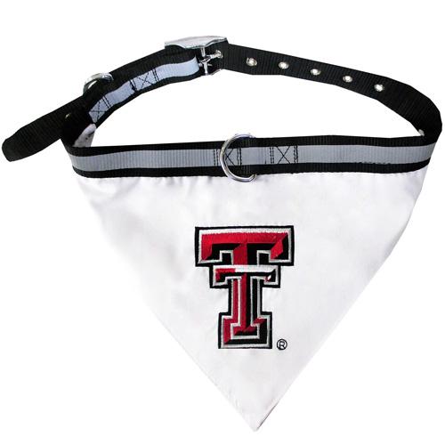 Texas Tech Raiders Dog Collar and Bandana