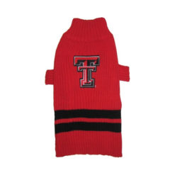 Texas Tech Raiders Turtleneck Dog Sweater