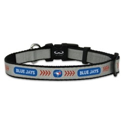 Toronto Blue Jays reflective dog collar