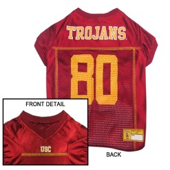 USC Trojans NCAA dog jersey