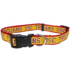 USC Trojans Nylon Dog Collar