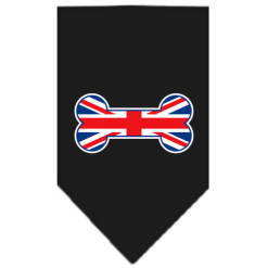 United Kingdom Screen Print Bandana black