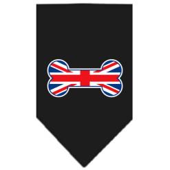 United Kingdom Screen Print Bandana black