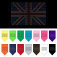 United Kingdom flag dog bandana