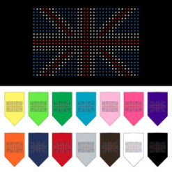 United Kingdom flag dog bandana