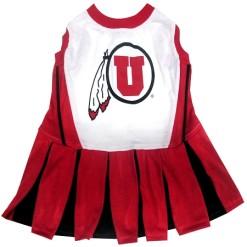 Utah Utes NCAA dog cheerleader dress