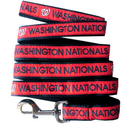 Washington Nationals MLB nylon dog leash