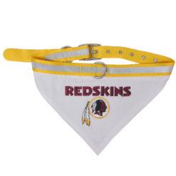 Washington Redkins Nylon Dog Collar and Bandana