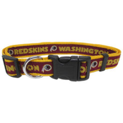 Washington Redskin NFL Nylon Dog Collar