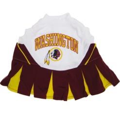 Washington Redskins NFL dog cheerleader dress