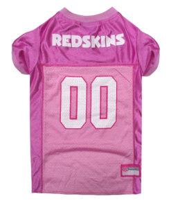 Washington Redskins Pink NFL Dog Jersey