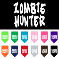 Zombie Hunter dog bandana