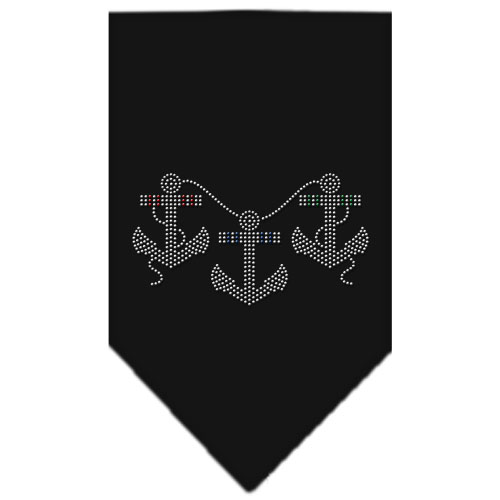 boat anchors and rope bandana black