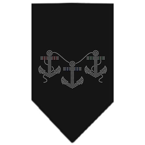 boat anchors and rope bandana black