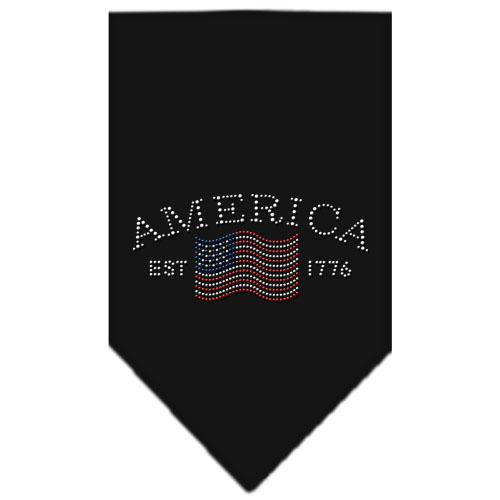 vintage american flag bandana colors