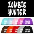 zombie hunter screen print sleeveless dog t-shirt colors